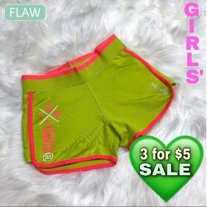 Reebok girls' athletic shorts